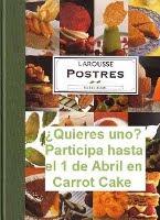 """Sorteo """"El Larousse de los Postres"""""""