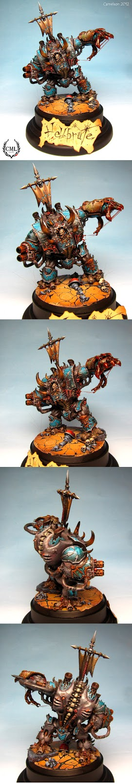Bruto Infernal de la caja de Warhammer 40000: Venganza Oscura pintado por Camelson
