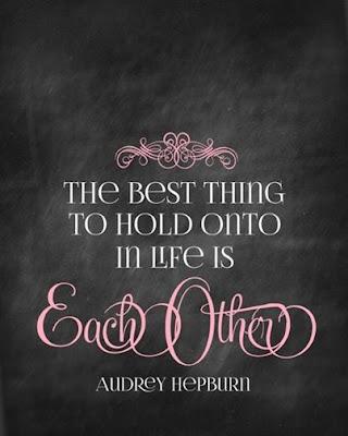 Audrey hepburn quote about life