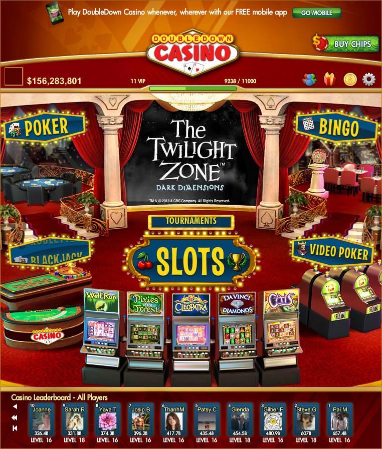 Double down casino mobile cheats