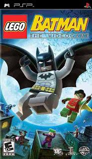 Lego Batman The Video Game PSP