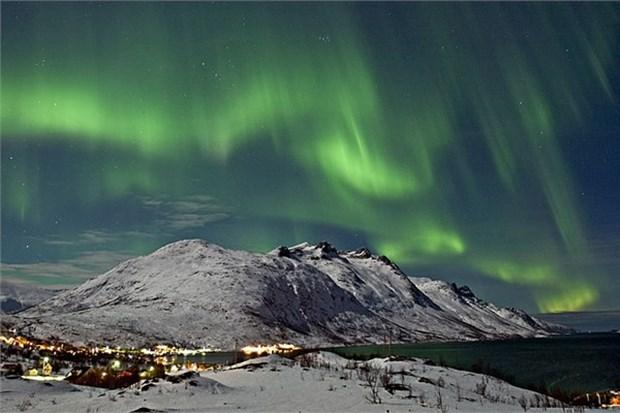 Kuzey ışıkları, İskandinavya ve İzlanda