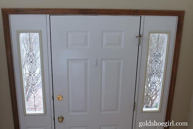 Gold Shoe Girl Quick Amp Easy Front Door Upgrade
