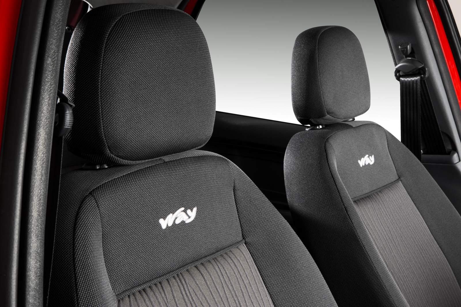 Novo Fiat Palio 2015 Way - interior