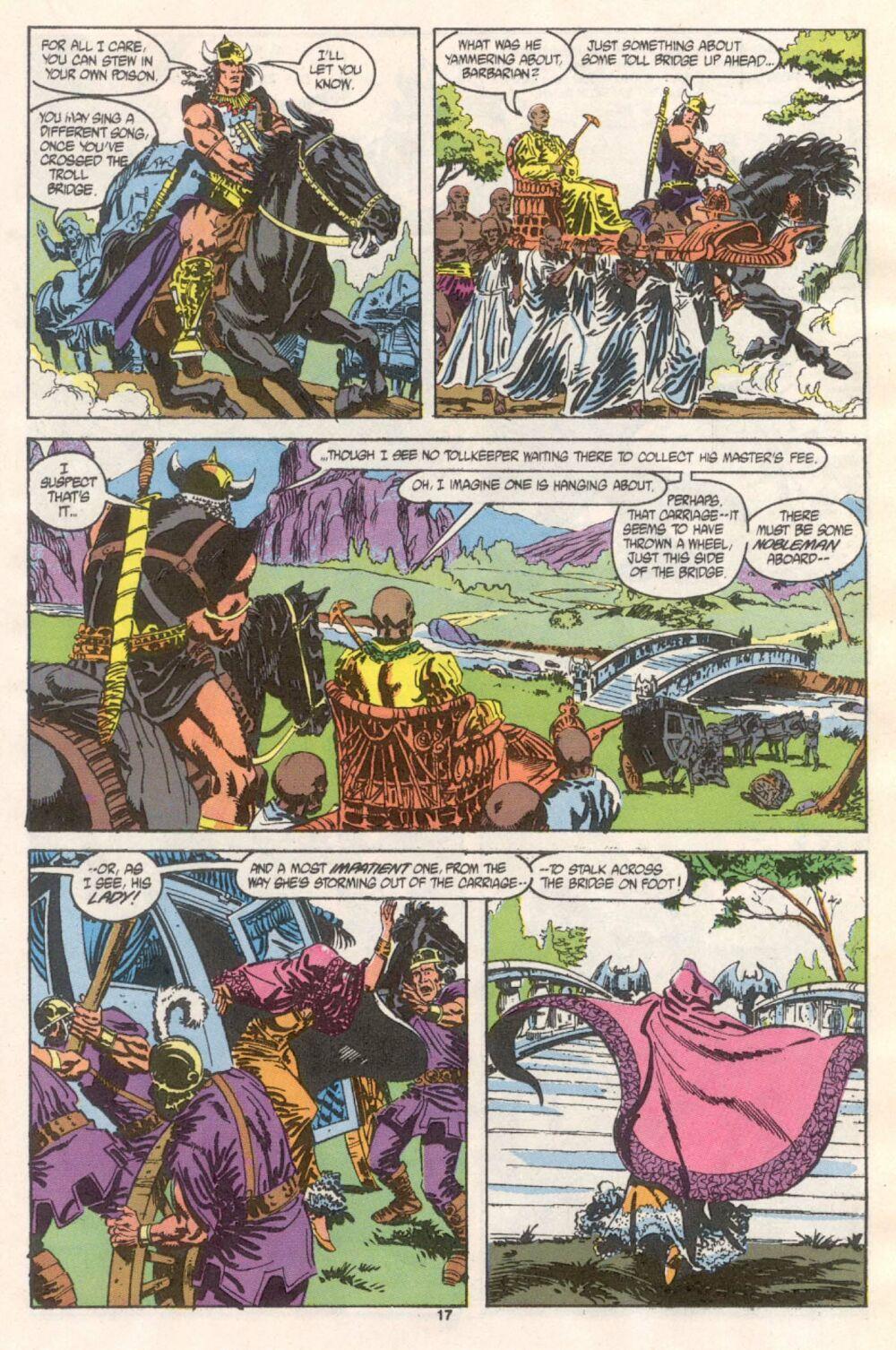Conan the Barbarian (1970) Issue #241 #253 - English 14