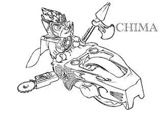 Ausmalbilder Chima zum Ausdrucken