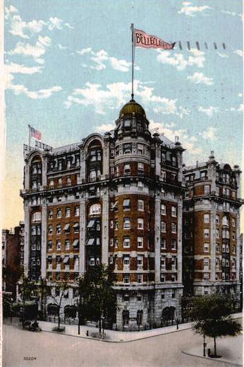 daytonian in manhattan the 1903 art nouveau hotel belleclaire