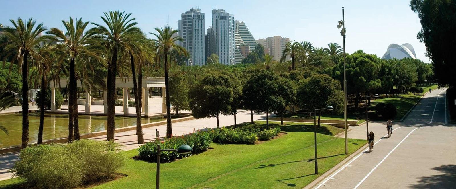 Folding style valencia escursione al parco naturale - Jardin del turia valencia ...