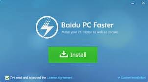 برنامج baidu pc faster 2014 لزيادة سرعة الكمبيوتر والكفاءة