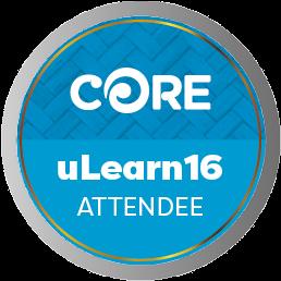 ULearn Attendee 2016
