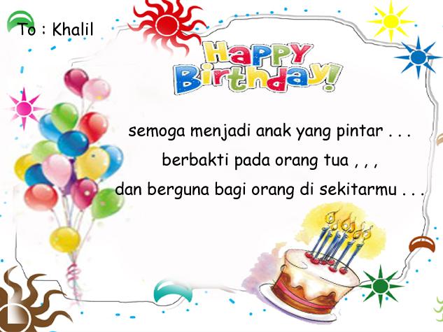 watch movies online Best 5 of Contoh Kartu Ucapan Ulang Tahun ~ Apr ...