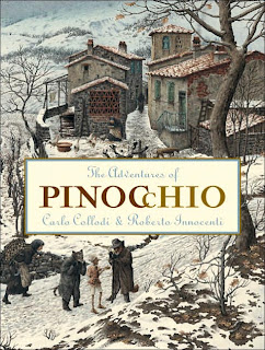Pinocchio illustrated by Roberto Innocenti front cover