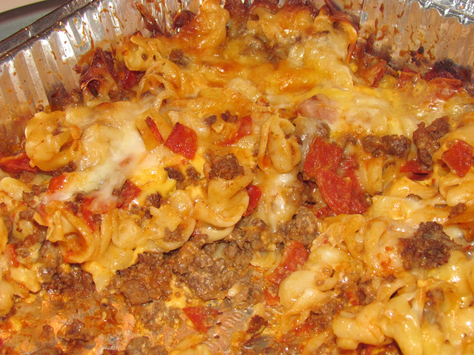 Made in our kitchen: Pizza Casserole