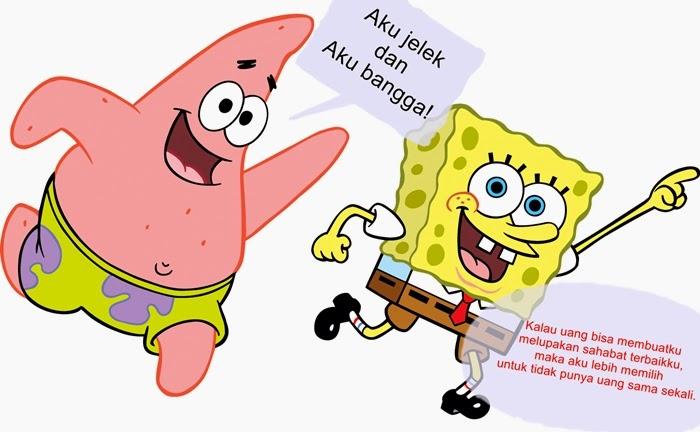 Kumpulan Kata Indah dan Lucu dari Kartun Spongebob Squarepants