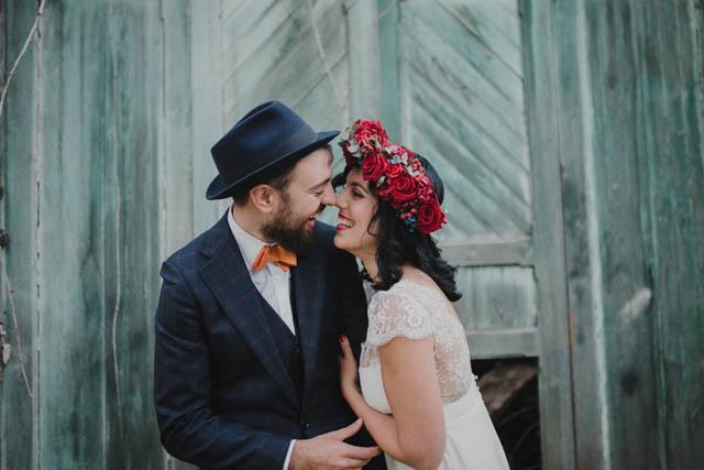 boda blog asturias novia vestido laure sagazan