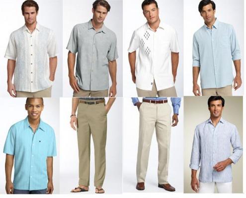 men%2Bdresses - beach wedding attire for men guests