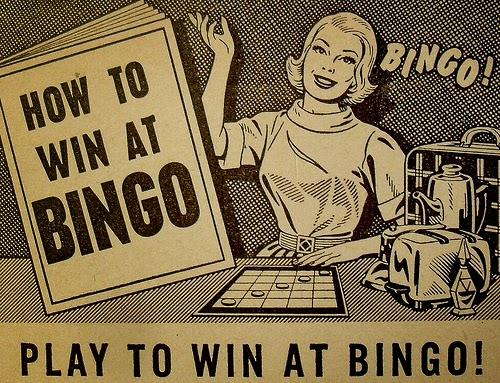 bingo newspaper advert