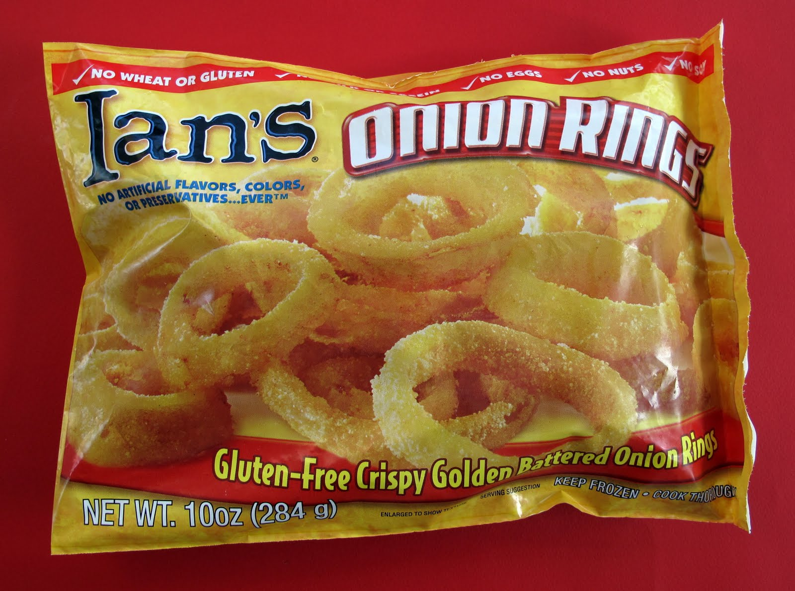 The Laziest Vegans in the World: Ian's Gluten-Free Onion Rings