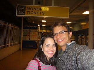 estacao monorail - hotel ballys - las vegas