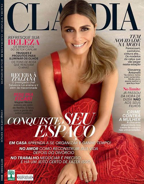 Actress @ Giovanna Antonelli - Claudia Brasil, Setembro 2015