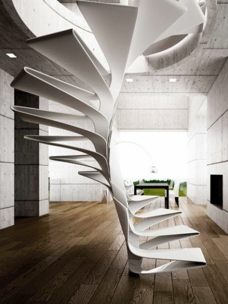 Spiral Staircase Folio Staircase From Italian Designers