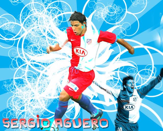 Sergio aguero wallpaper 2013