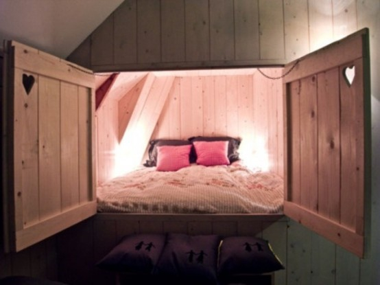 Hidden+bed+1+SSA (554×415) | When I Get To Build My House :o) |  Pinterest | Bedrooms, Room Ideas And Small Spaces