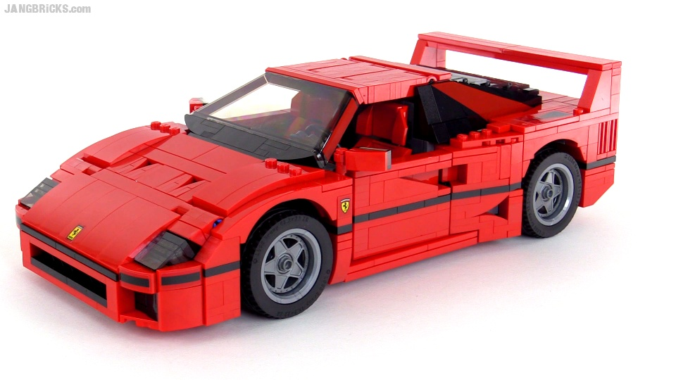 lego creator ferrari f40 build review videos set 10248. Black Bedroom Furniture Sets. Home Design Ideas
