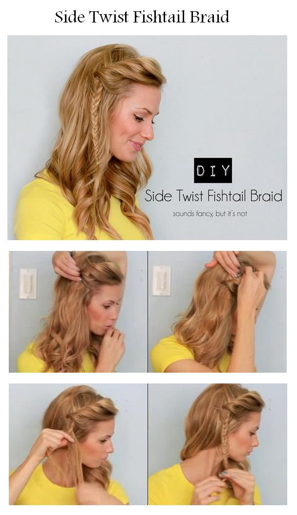 Hairstyles tips and tutorial: How To Make A Side Twist ...