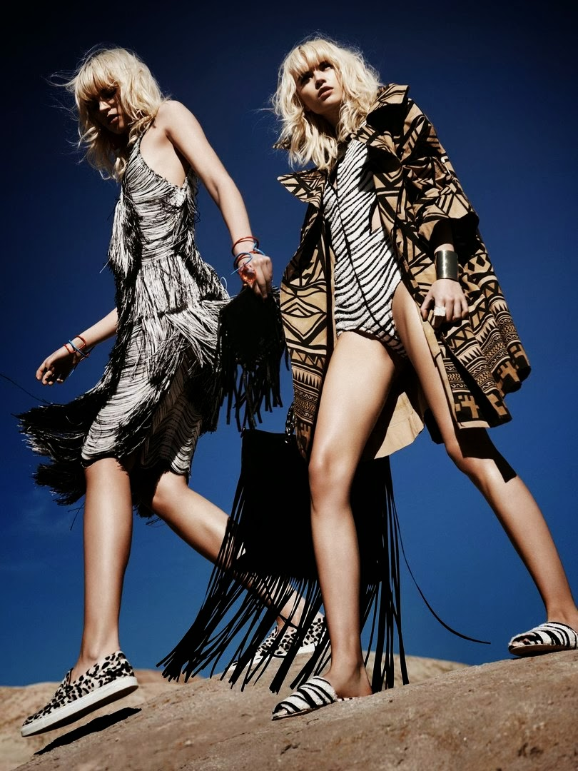 Anabela Belikova HQ Pictures Marie Claire US Magazine Photoshoot March 2014 By Jan Welters