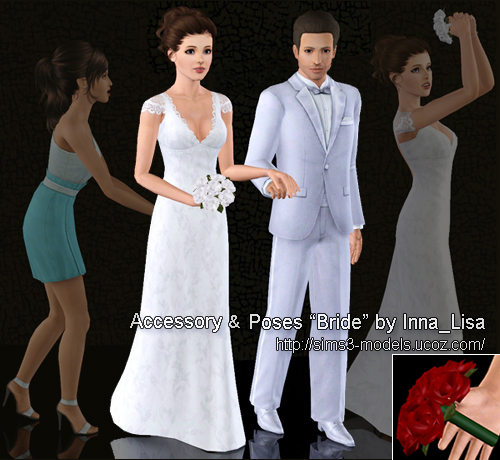 Wedding Altar Sims 3: My Sims 3 Blog: Bridal Accessories And Poses By Inna_Lisa