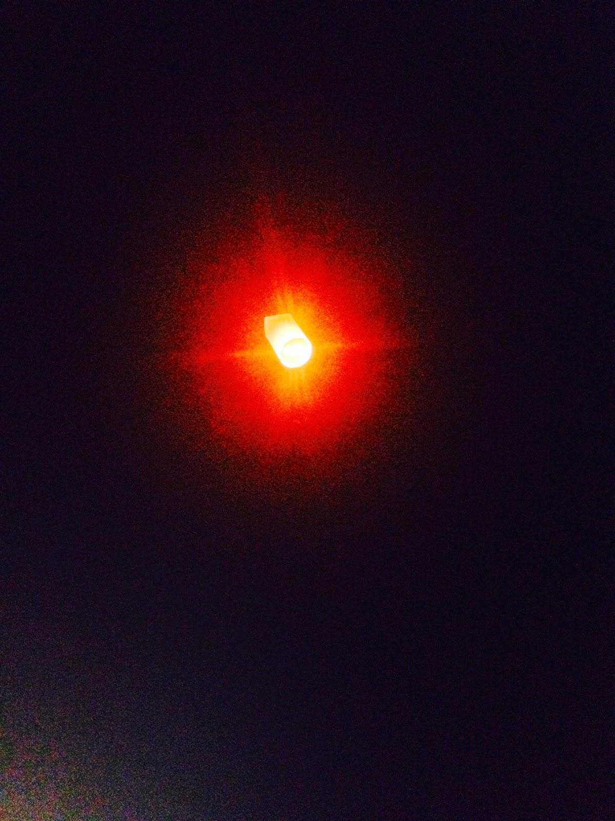 Sky lantern Koh Samui Thailand