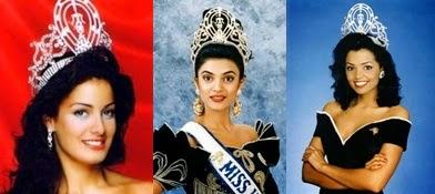 Misses Universo 93 - 94 - 95