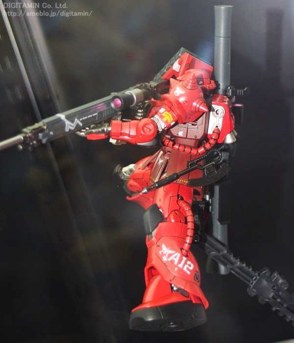 bandai model kit char zaku II