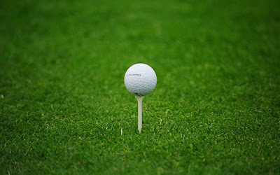 Golf Ball Grass PC Widescreen Wallpapers