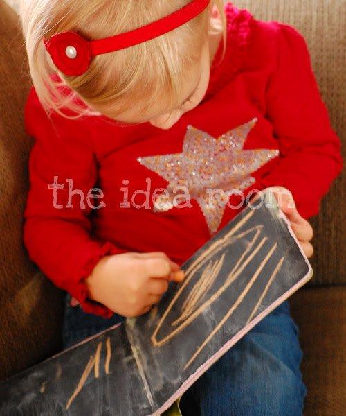 Make a Chalkboard DIY Quiet Book Kids Will Love! - Mod Podge Rocks