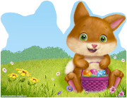 . I thought you might like to make up this delightful felt Easter Basket. easter basket