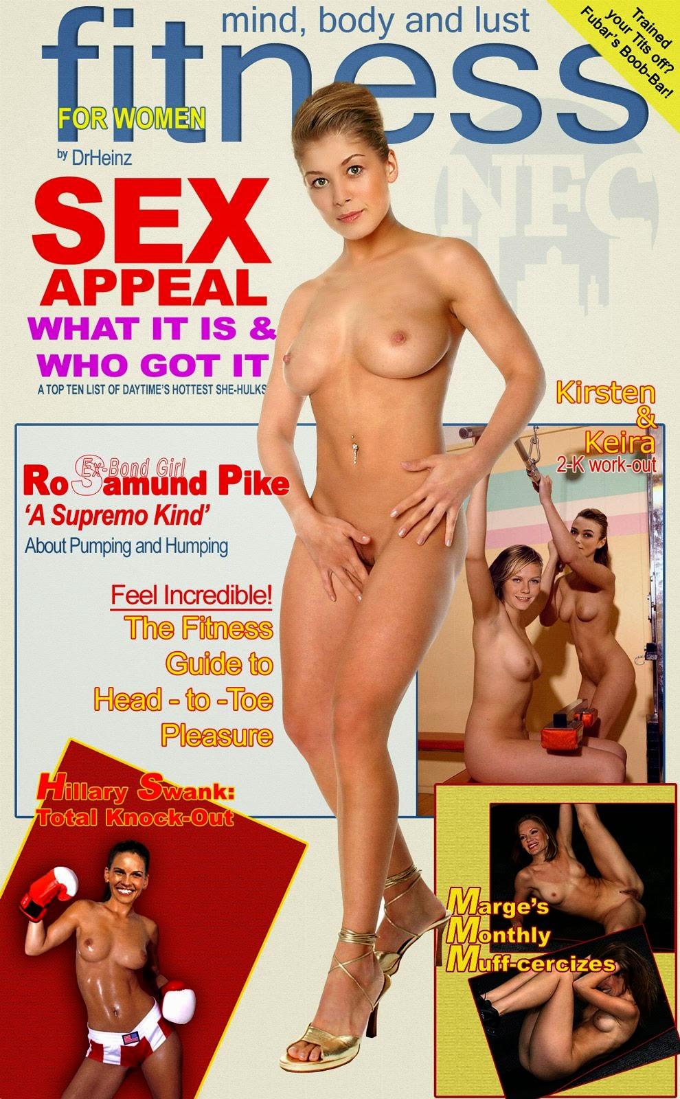 Nackt Bilder : Rosamund Pike Naked Hot Photos   nackter arsch.com