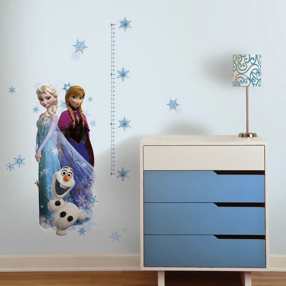 medidor de pared de frozen
