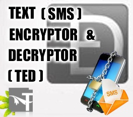 Text (SMS) Encryptor and Decryptor