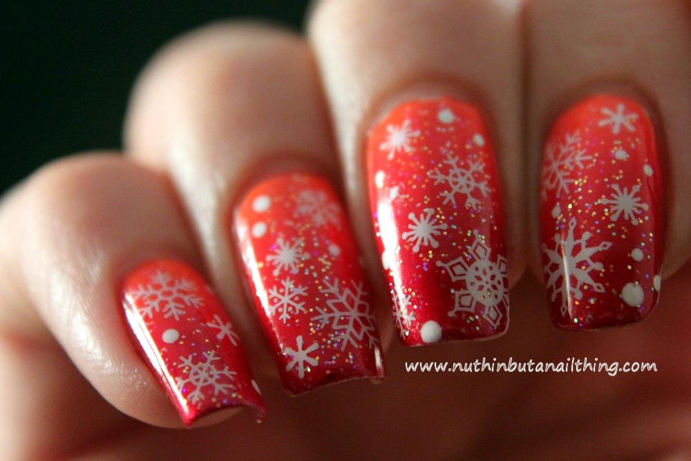 Nuthin but a nail thing snowflake nail art snowflake nail art prinsesfo Images
