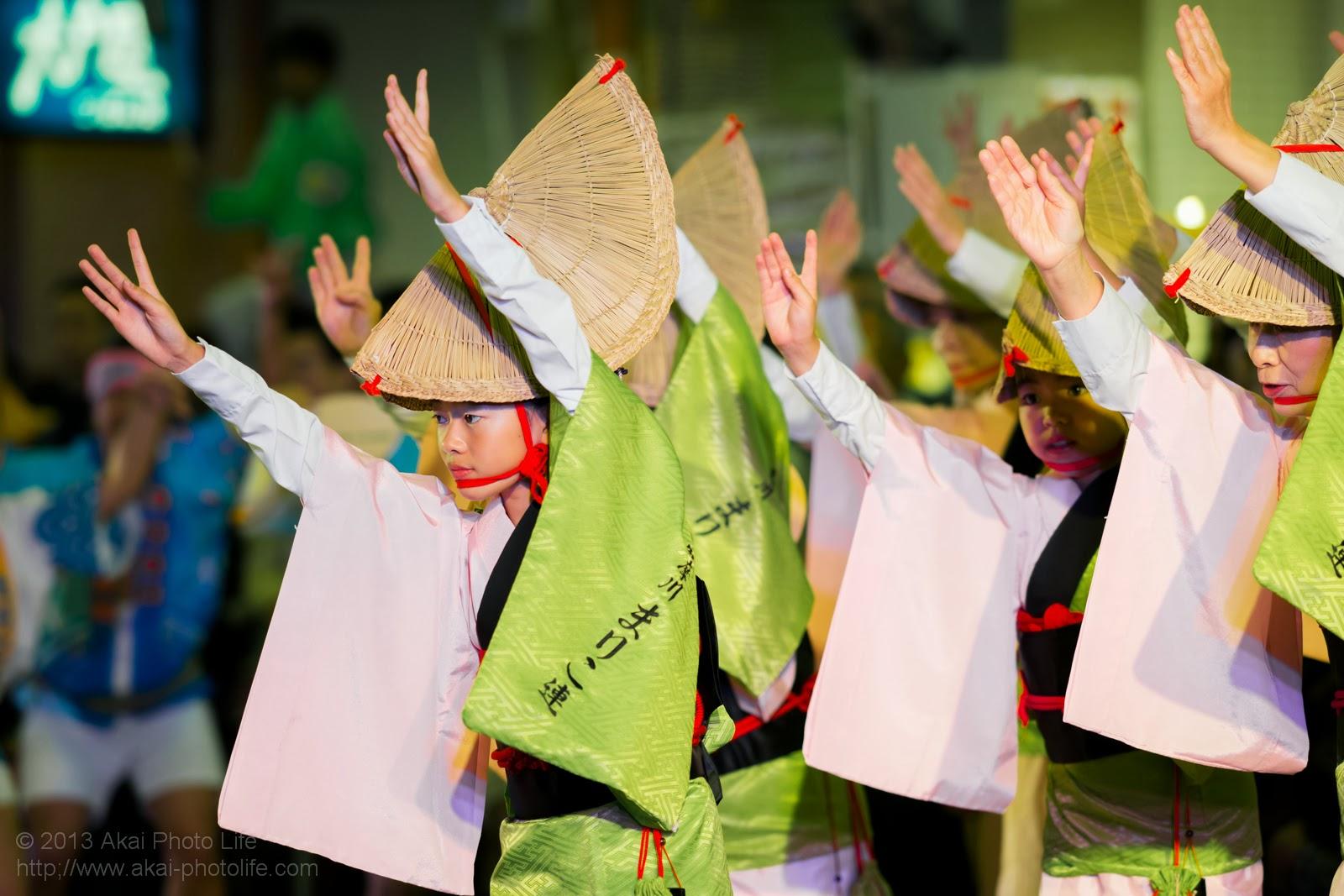 かわさき阿波おどり、多摩川丸子連、女踊り