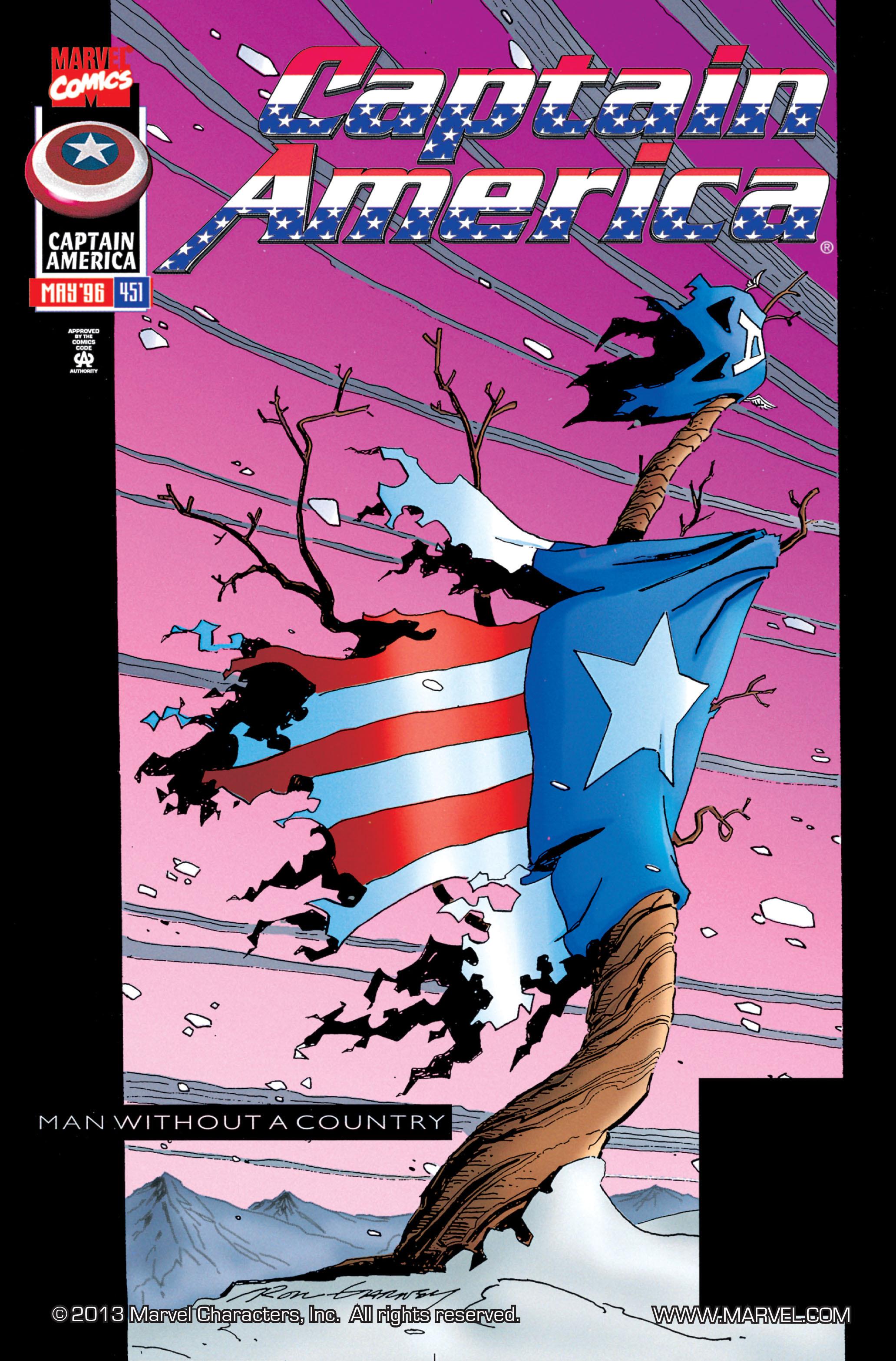 Captain America (1968) Issue #451 #408 - English 1