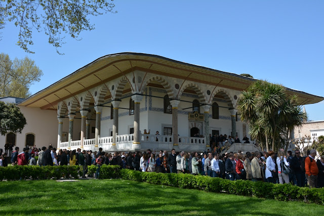 Topkapi Palace Istanbul Long Waiting Rows