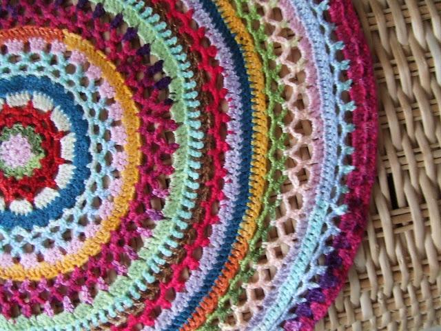 Rundes Deckchen