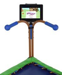 JumpSport iBounce%2BTrampoline%2Bwith%2BiPadWEB iBounce™ Kids Trampoline Giveaway