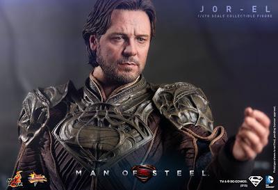 "Hot Toys 1/6 Scale Man of Steel 12"" Jor-El Figure"