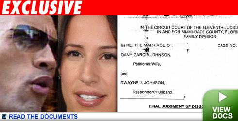 Dwayne Johnson Dany Garcia Divorce