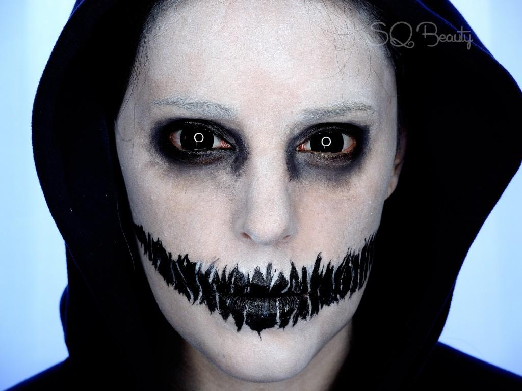 Missarretrancos ideas f ciles para un maquillaje de halloween for Pinturas de cara para halloween