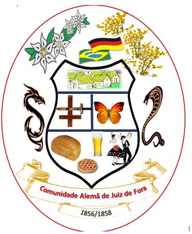 BRASÃO DA COMUNIDADE ALAMÃ DE JUIZ DE FORA
